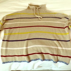 Mock Neck Stripe Sweater from Madewell
